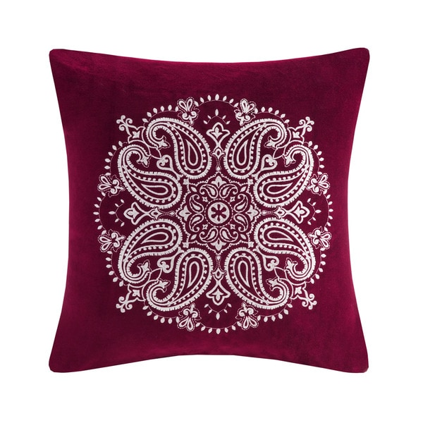 Best Throw Pillow Filling : Velvet Celest Basic Square Toe Flats