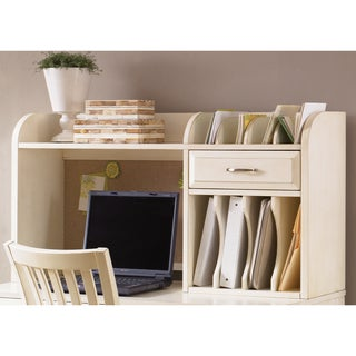 Hampton Bay White Writing Hutch