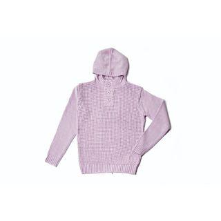 Textured Hoodie Sweater 24106-LPK