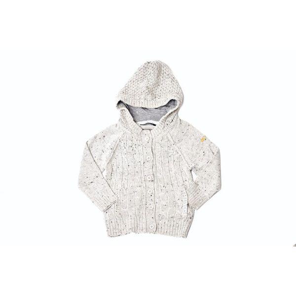Kids' Textured Stone Hoodie Sweater
