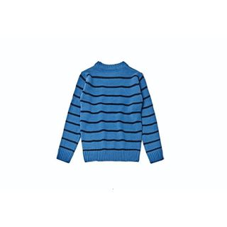 Kid's Blue Striped Pullover Sweater