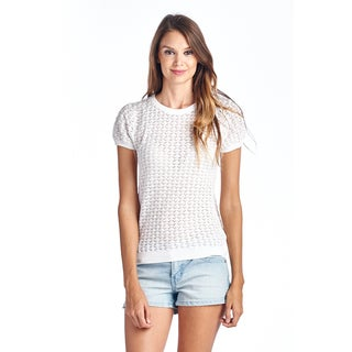 Women's Essential Tops White Blouse
