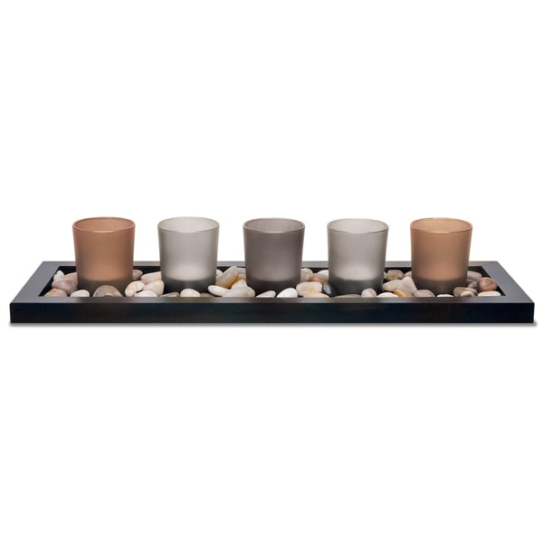 Apothecary & Company 5-Piece Tealight Candle Set