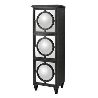 Sterling Mirage Convex Mirror Shelf Unit