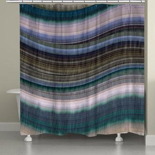 Laural Home Colorful Rhythms II Shower Curtain (71-inch x 74-inch)