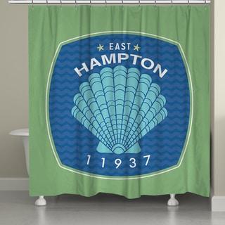 Laural Home East Hampton Beach Shower Curtain (71-inch x 74-inch)
