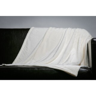 Home Fleece Throw Blanket (50-inch x 60-inch)