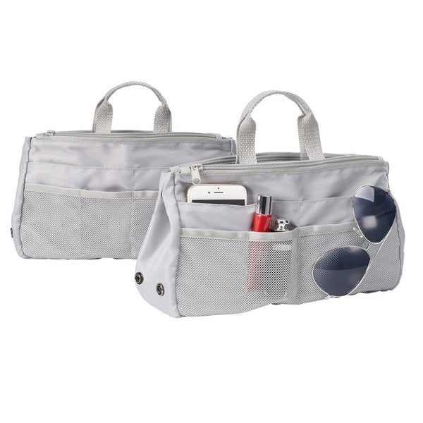 StorageManiac Large Polyester Carry-All Duffel Large Duffel Bag for Travel Pack of 2