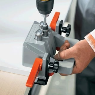Rok Hardware Blum ECODRILL Drilling Tool Hinge Jig with Bits and Drivers