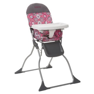 Cosco Simple Fold High Chair in Posey Pop