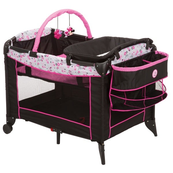Disney Sweet Wonder Play Yard in Garden Delight Minnie