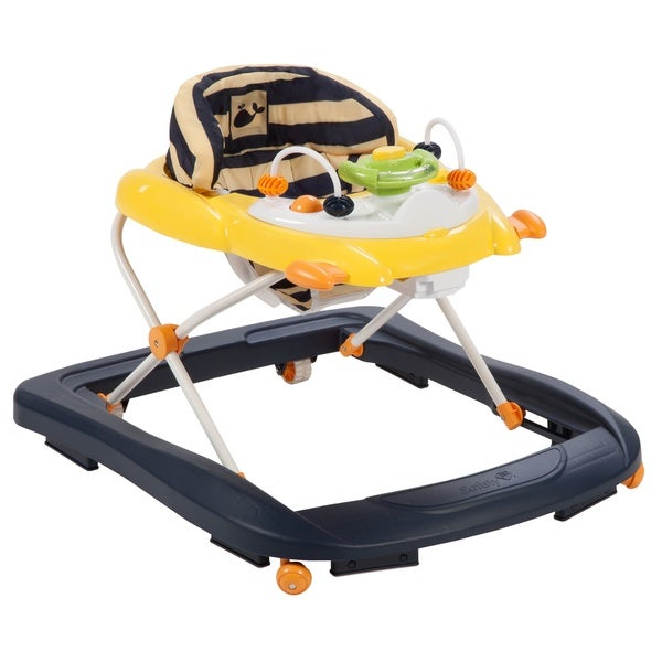 Safety 1st Sound 'n Lights Activity Walker in Nautical Whale Stripe