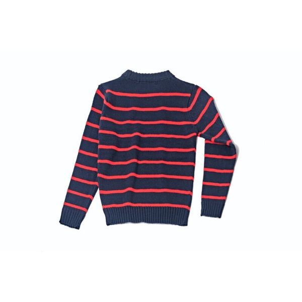 Kids Striped Sweater 1044-NAV