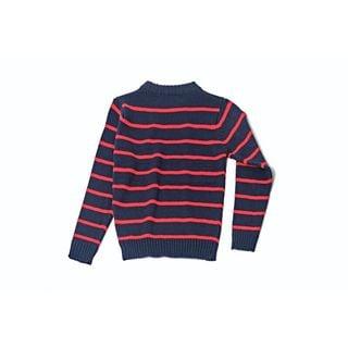 Kids Striped Sweater 1044-NAV
