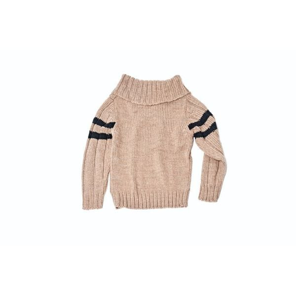 Knitted Button Sweater 24110-TAU