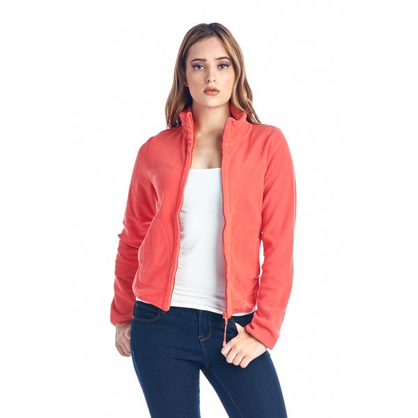 Women's Coral Fleece Full Zip Jacket