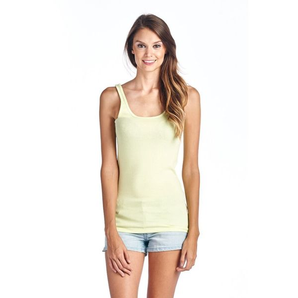 Women's Essential Lime Tank Top