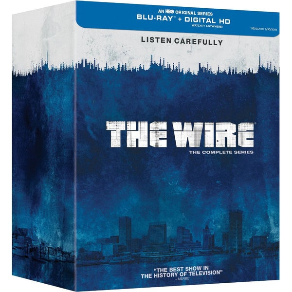 The Wire: The Complete Series (Blu-ray Disc) 16473642