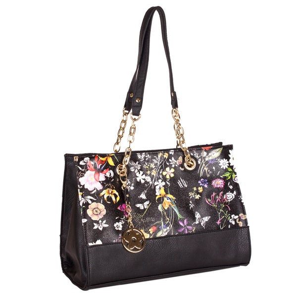 Bueno 'Clara' Summer Flower Shoulder Bag