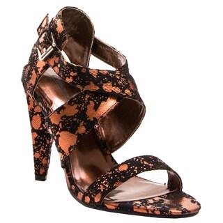 Gomax Women's 'Luna-15' T-Strap Heels