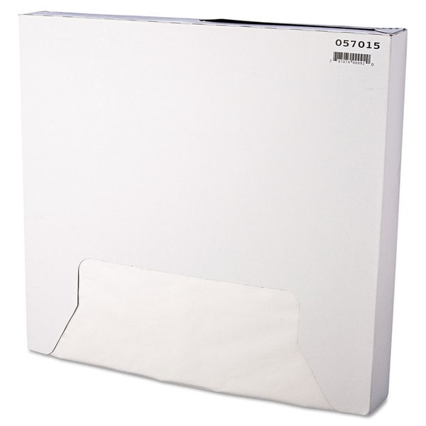 Bagcraft Papercon White Grease-Resistant Paper Wrap/Liners (3 Packs of 1000 Sheets)