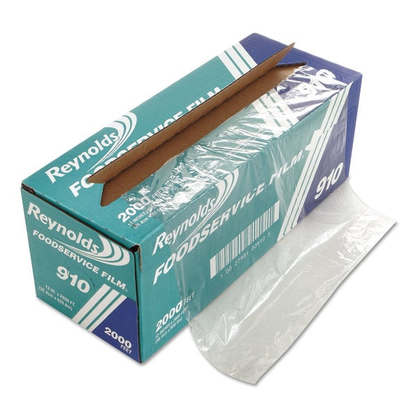 Reynolds Wrap Clear PVC Film Roll w/Cutter Box