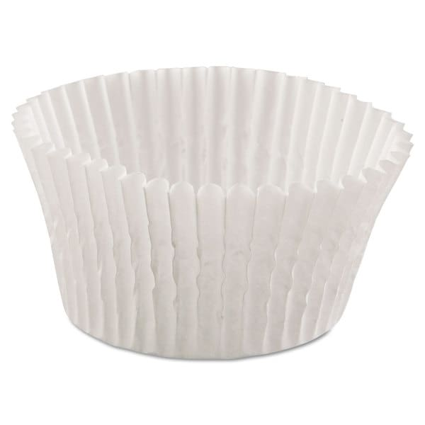 Hoffmaster Fluted White Bake Cups (20 Packs of 500 Cups) 16474413