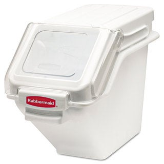 Rubbermaid Commercial White ProSave Shelf Ingredient Bin