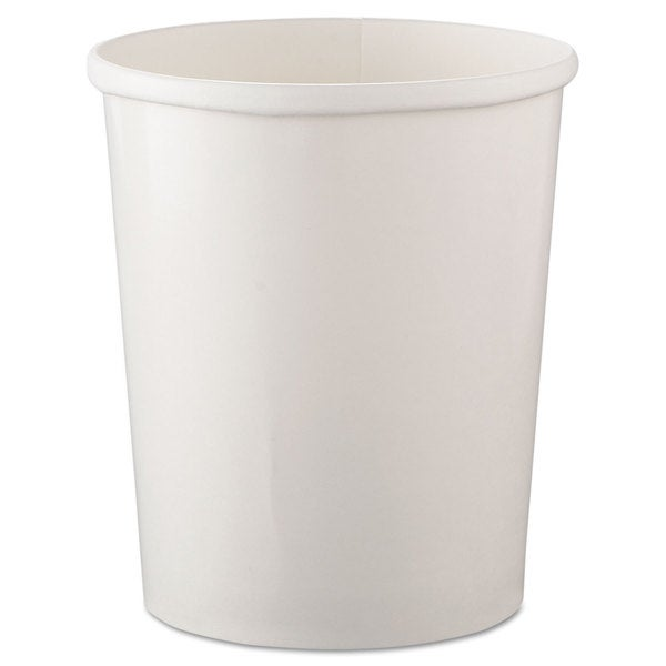 SOLO Cup Company Flexstyle White Double Poly Paper Containers (20 Packs of 25 Containers) 16474515