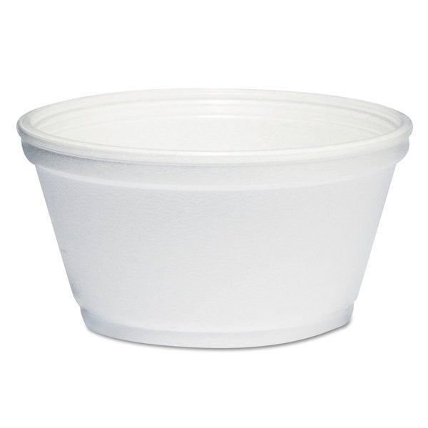 Dart White Foam Container (Pack of 1000)