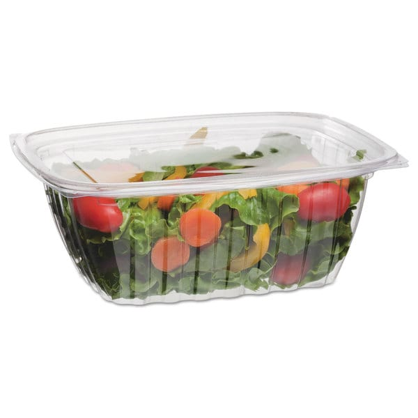 Eco-Products Rectangular Corn-Based Plastic Deli Containers (Pack of 500)