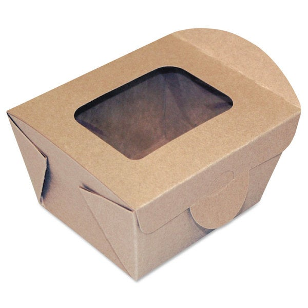 Dixie Windowed Kraft Food Containers (Pack of 450)