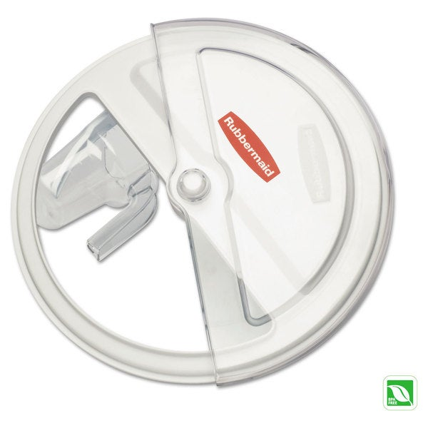 Rubbermaid Commercial White/Clear ProSave Sliding Lid