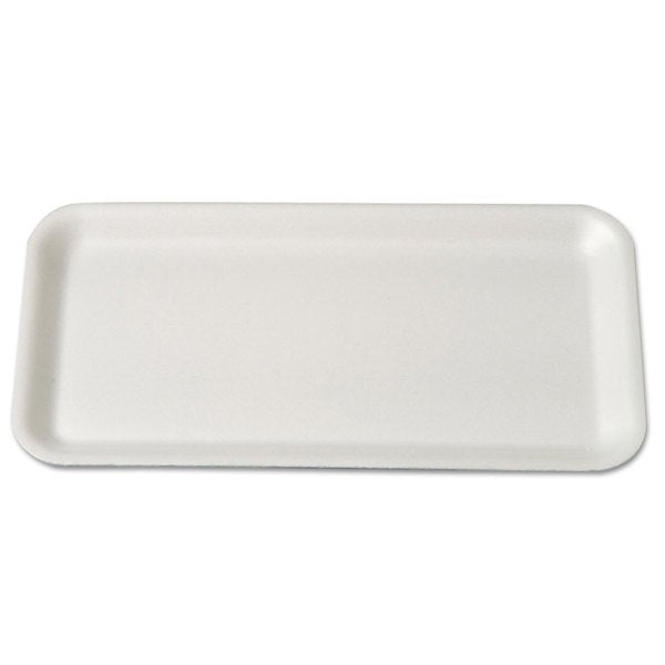 Genpak White Foam Supermarket Trays (Pack of 4)