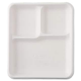 Chinet Heavy-Weight Molded Fiber Cafeteria Trays (Pack of 500)