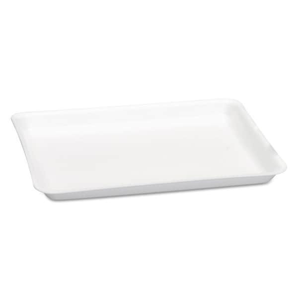 Genpak Supermarket White Foam Tray