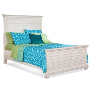 Greyson Living Huntington Antique White Bed