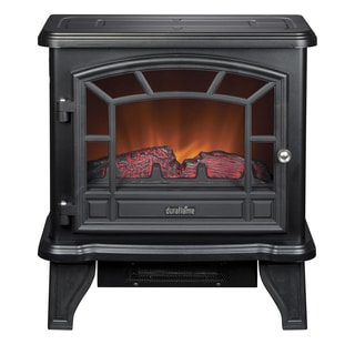 Duraflame DFS-550-21-BLK Black Maxwell Electric Stove with Heater
