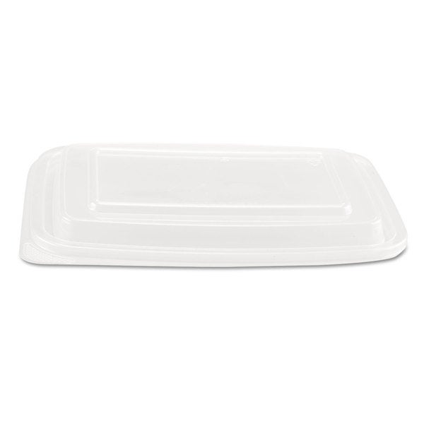 Genpak Microwave Safe Clear Plastic Container Lids (Pack of 300)