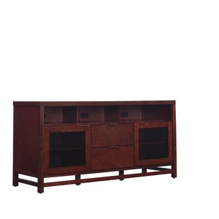 """Bell'O BFA63-94812-CHJ Scarborough 63"""" TV Stand for TVs up to 70"""", Chocolate"""