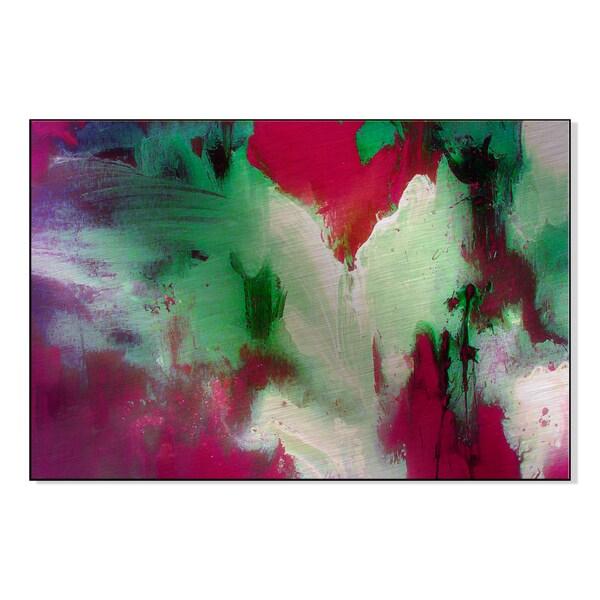 Desert Rose Print by Lisa Fabian on Mounted Metal Wall Art