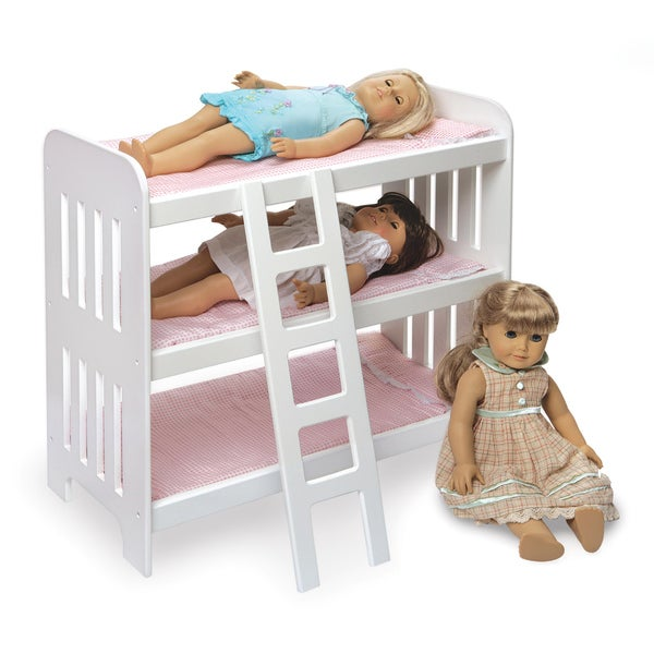 Triple Doll Bunkbed