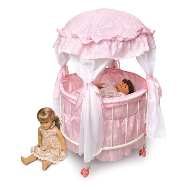 Royal Pavillion Round Doll Crib