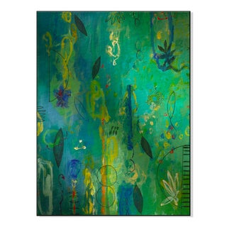 Gallery Direct 'Sea Flowers II' AA Phoenix Printed on Metal Wall Art