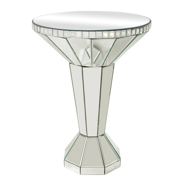 Fleet Mirrored Side Table