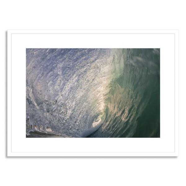 Sampson, Joel 'Blue Swallow' Framed Paper Art