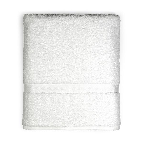 Avanti Supersoft Solid Color Bath Towel Dobby Stripe