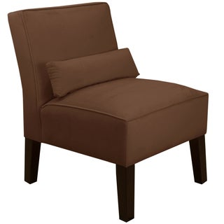 Skyline Furniture Premier Chocolate Armless Chair