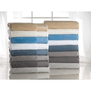 Elegance Spa 100-percent Egyptian Cotton Jacquard 10-piece Towel Set