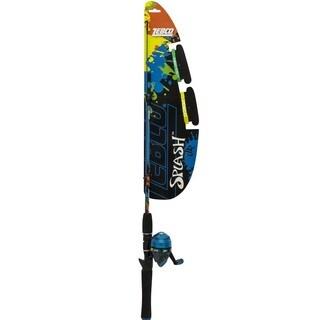 Zebco quick cast size 20 2pc combo 6 foot medium light for Best walmart fishing combo